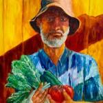 The Gardener Self Portrait